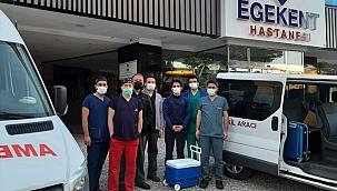 İzmir'deki hastaya umut oldu