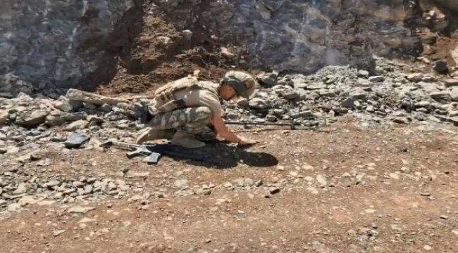 MSB: Irak'ın kuzeyinde mağara kullanılmaz hale getirildi