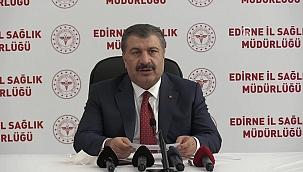 Sağlık Bakanı Koca duyurdu: Muhtarların aşılama takvimi yarın başlıyor