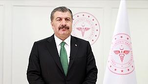 Sağlık Bakanı Koca, vaka sayısı en çok azalan illeri açıkladı