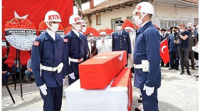 Şehit Uzman Çavuş Ahmet Asan son yolculuğuna uğurlandı