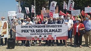 TGB PKK Dostu Felsefeciye Eylemle Yanıt Verdi!