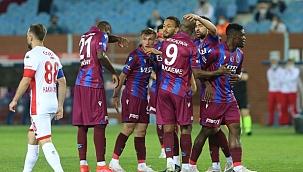 Trabzonspor evinde galip