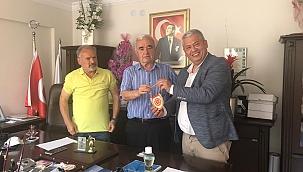 İzmir Amatör Spor Kulüpleri Federasyonuna Ziyaret
