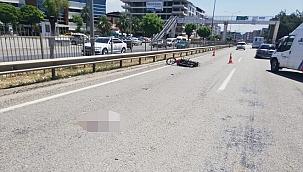 Torbalı'da motosikletin çarptığı yaya hayatını kaybetti, sürücü yaralandı