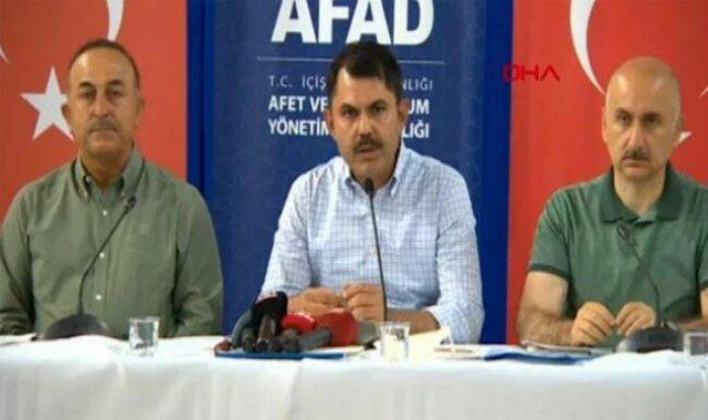 Bakanlardan Antalya'da yangınlara ilişkin açıklamalar