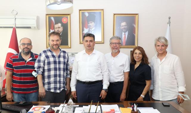 TSYD İzmir Şubesi'nden Eskici'ye ziyaret