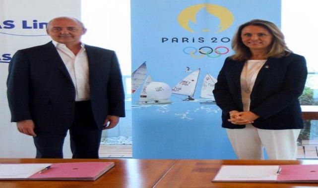 Yelken Federasyonu'na Paris 2024 için Arkas desteği