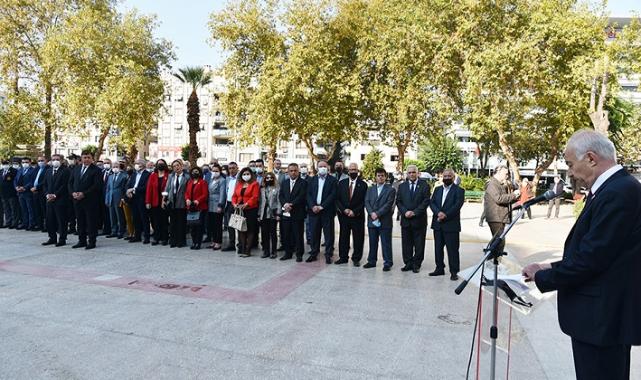 19 Ekim Muhtarlar Günü Karşıyaka'da törenler ile kutlandı.