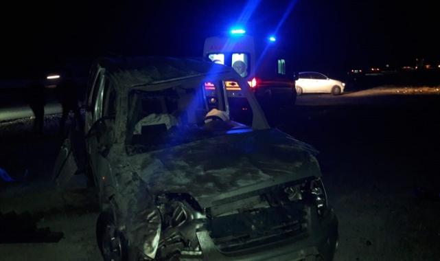 Afyonkarahisar'da trafik kazasında 1 kişi öldü