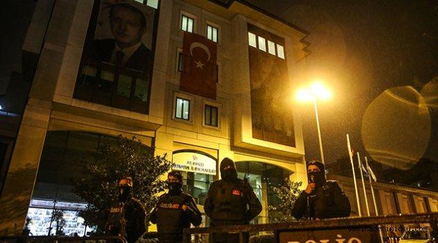 AK Parti binasına saldıran ikinci terörist ölü ele geçirildi