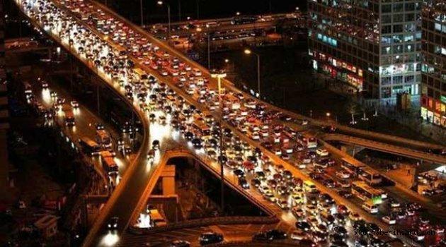 Trafikteki taşıt sayısı 21 milyonu geçti