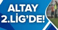 Altay 2. Lig'de.
