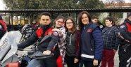Görme engelli öğrenciler Yunus ekipleriyle gezdi