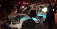 Şüpheliyi takip eden polis aracı kaza yaptı: 2 şehit