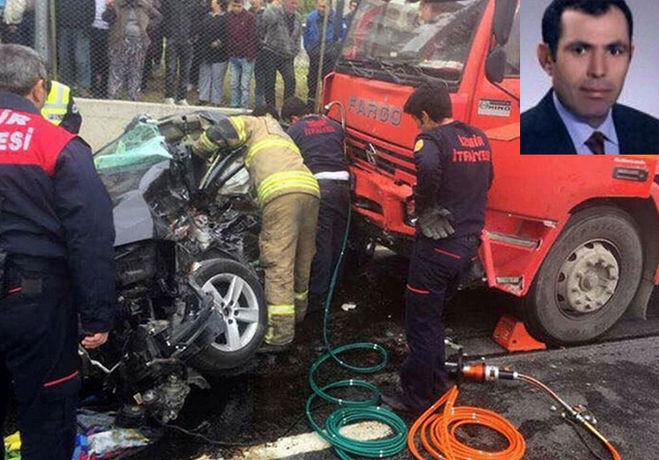 Korkunç Kazada Hakim Yaşamını Yitirdi