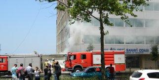 Ebso'da yangın paniği